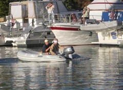 dinghy race
