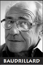 Jean Baudrillard, anarchiste