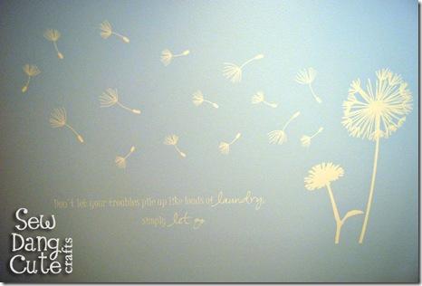 Vinyl-dandelion-decal