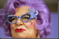 Dame Edna Everage Launches MAC Cosmetics Range ArF7LFarrY7l