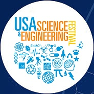 Logo of the USA Science and Engineering Expo