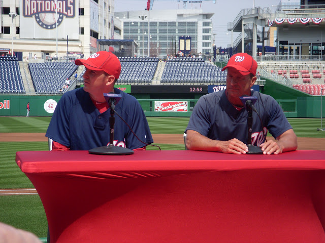 John Lannan and Jim Riggleman