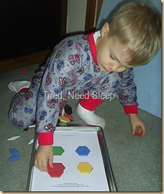 pattern block hexagons