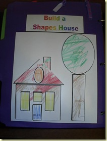 shapes house finished