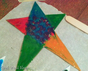 my finished star