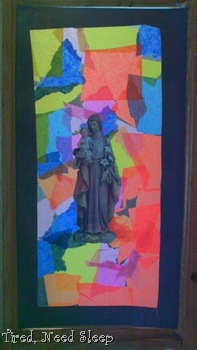 Finished St. Joseph artwork