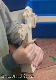 sanding cross