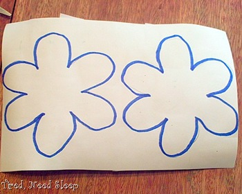 flower outlines
