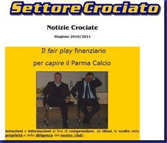 SETTORE CROCIATO E IL FAIR PLAY FINANZIARIO