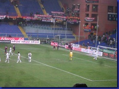 disperazione dopo terzo gol  genoa parma
