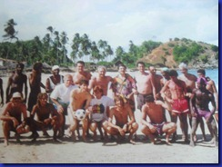 majo sull'isola dei frati