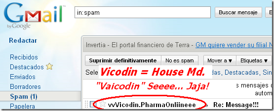 Gmail - Spam (1) - 2