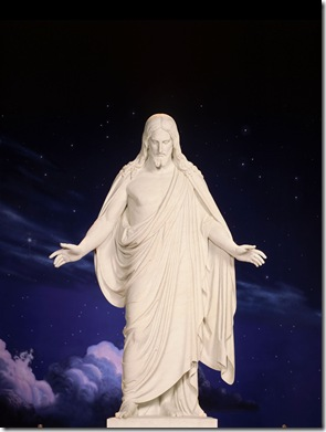 sud jesus estatua