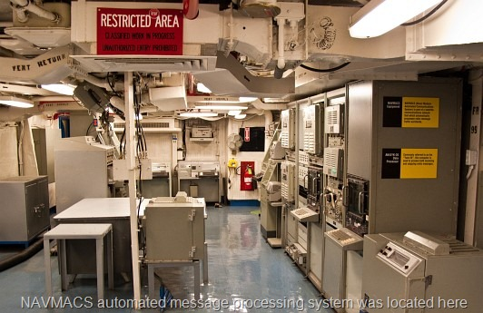 © Bob Baillargeon - Radio Central - USS Midway