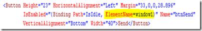 XAML button binding