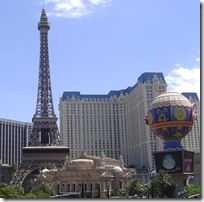 Las Vegas a Virtual Paris