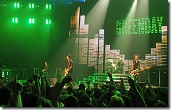 Concert Stage - Green Day