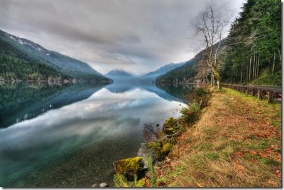 WA - Crescent lake HDR