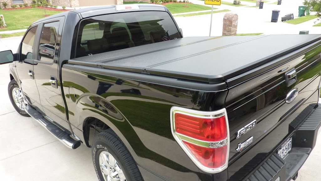 Hard Folding Truck Bed Covers 2010 f150 6.5 feet 4-folding hard tonneau cover - Ford F150 Forum