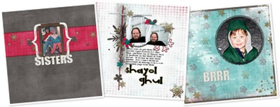 Shabby Chill - Layouts anzeigen