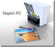 Napkin PC Concept by Avery Holleman