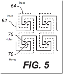 Don A. Speck, et al. (Synaptics), Capacitive Sensing Pattern, US7202859, Apr. 10, 2007.