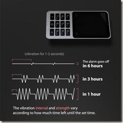 Time-Telling Vibration
