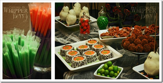 Halloween Dessert Table