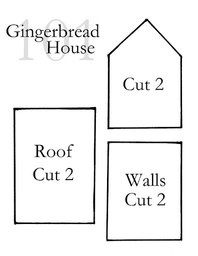 Gingerbread House Templates | thevolunteerinside.org
