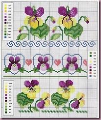 violetas barras - cole%C3%A7%C3%A3o DMC 1--1