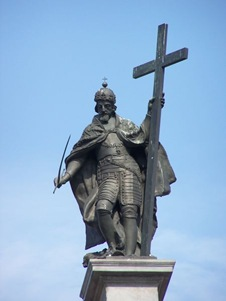Sigismund&#8217;s statue on top the column
