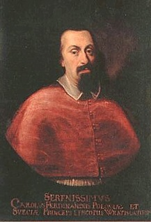 Prince Charles Ferdinand Vasa, Bishop of Wroclaw and Plock, Duke of Opole and Nysa