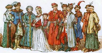 Nobles de Polonia siglo 16 y 17