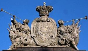 Escudo de Polonia y Lituania reinado de Estanislao II Augusto Poniatowski