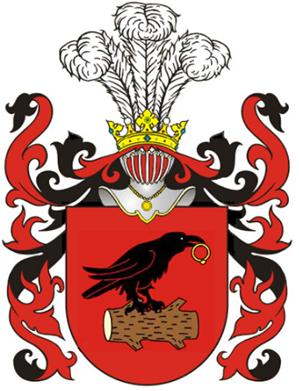Blason o clan heraldico Korwin