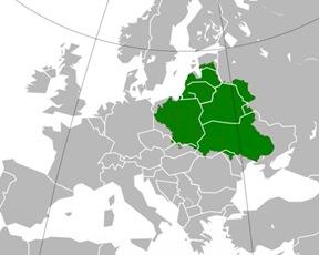 Ubicacion del Reino Polaco-Lituano-Ruteno 1600