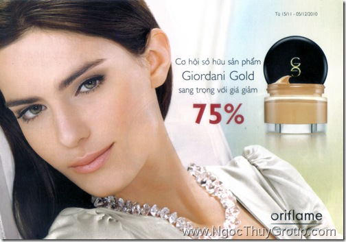 Mua Kem Nen Oriflame Giordani Gold Gia 89k - 01
