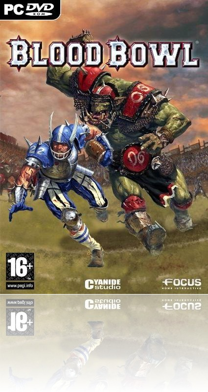 Blood Bowl PC Game Cover