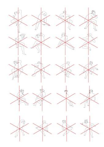 Ilustracja 4 Orientacja grup postaci w układzie odniesienia