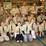 Carmel Boy Scouts Crossover bridge