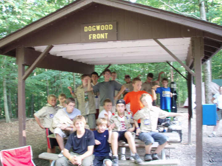 Carmel Boy Scouts Carmel Troop 132 Ransburg Summer Camp.