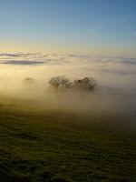 Zwischen Sonne und Nebel
