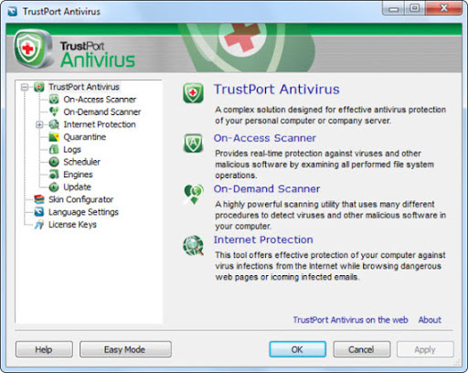 Free 3 Months TrustPort Antivirus 2010 License