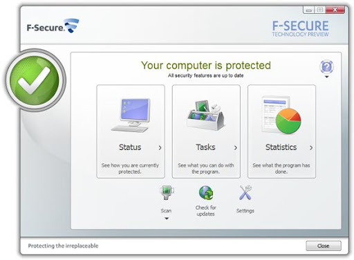 Download F-Secure Internet Security 2011 Beta with 180 Days License