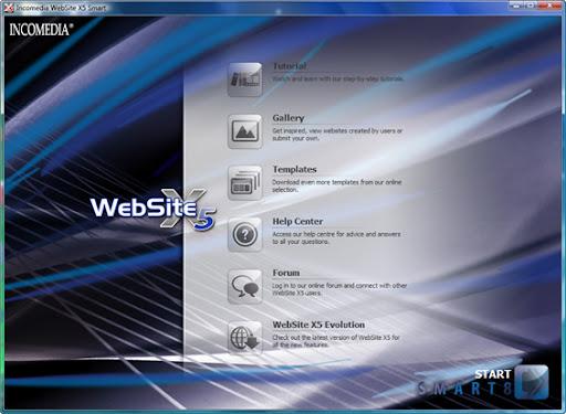 Get Incomedia Website X5 v8 Free License