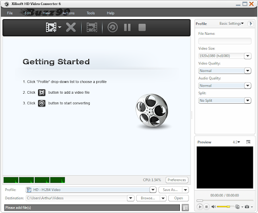 Download Xilisoft HD Video Converter 6 with Free License Key