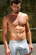 Hot Muscle Men in Underwear - What Color is Beautiful? Gallery 11