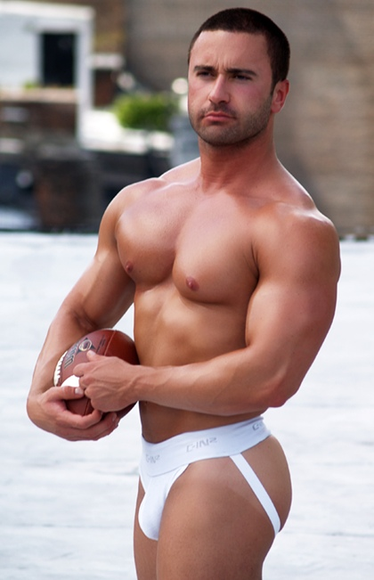 John Pizzo - Hot Muscle Hunk Male Model