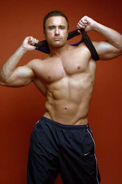 John Pizzo - Hot Muscle Hunk Male Model with Chiseled Body