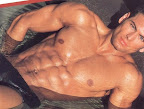 muscle male model TJ Hoban